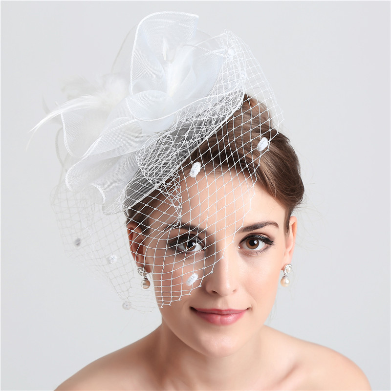 Online Buy Wholesale Birdcage Veil From China Birdcage