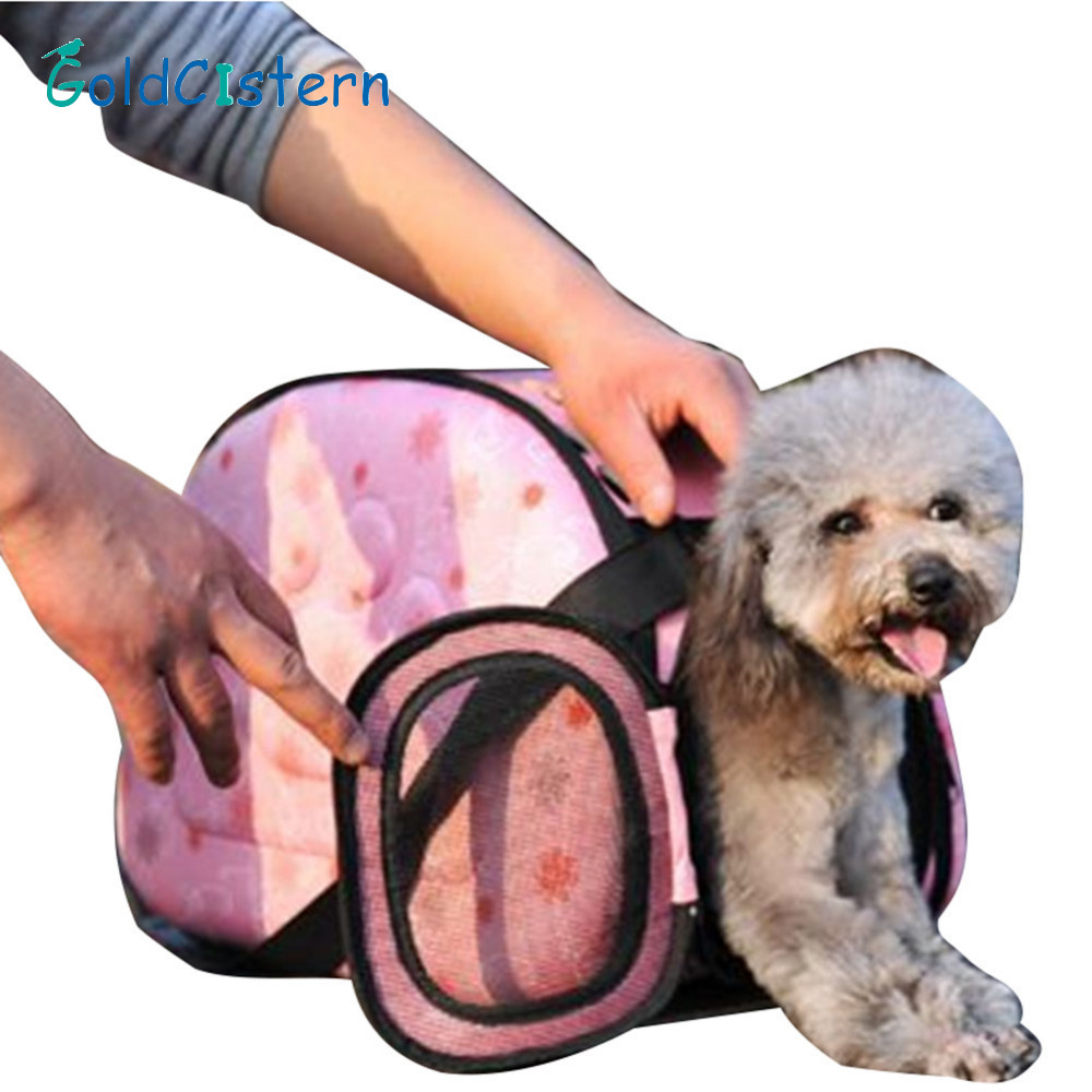 Dog Carriers Hard-Working Pet Dog Carrier Backpack Outdoor Travel Products Breathable Shoulder Transporting Luggage Box For Small Dog Cats Bag Dogs Bag