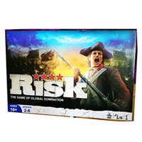 Risk The Game Of Global Domination Board Game 2 6 Players to Play Best Gift Family/Party/Friends Funny Strategy Cards Game