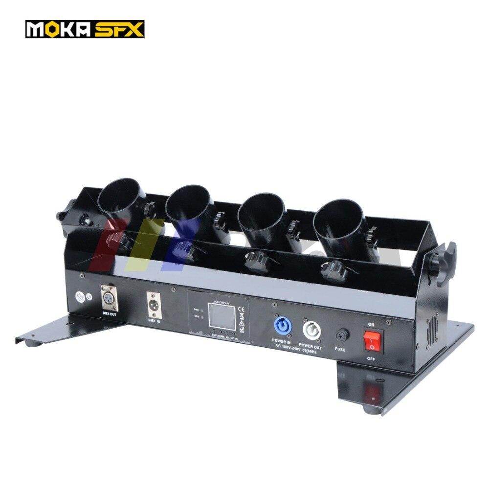 Four Shots Streamer Confetti Launcher DMX Confetti Shot Machine Wedding Confetti Launcher