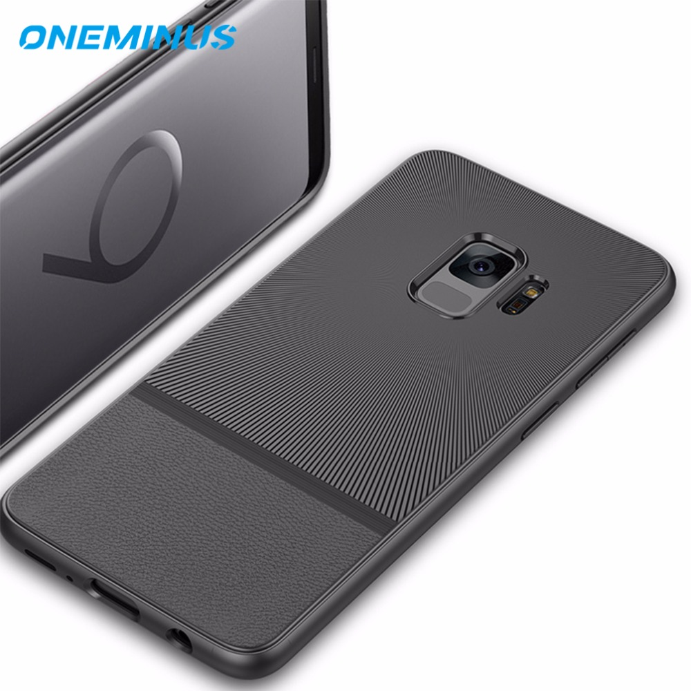for Samsung galaxy S9 Case Luxury Ultra Thin Slim Silicone Case for Samsung S9 Plus Soft TPU Case S 9 Protective cover case bag