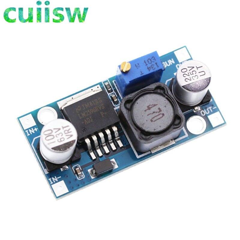 5 шт./лот LM2596HVS 4,5-60 в LM2596HV регулятор напряжения постоянного тока Преобразователь напряжения автомобильное зарядное устройство для автомоби...