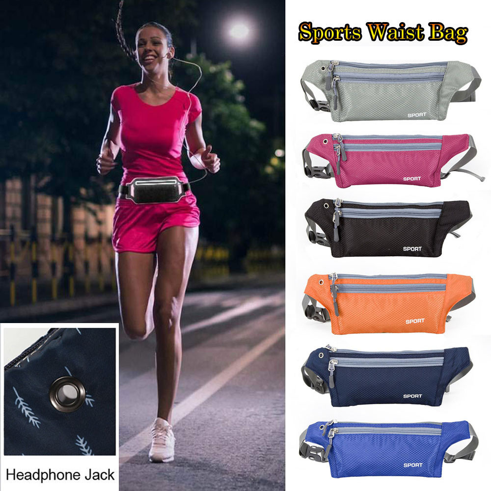 Outdoor Travel Anti-water Pocket Running Bicycle Sports Cell Phone Waist Bag New