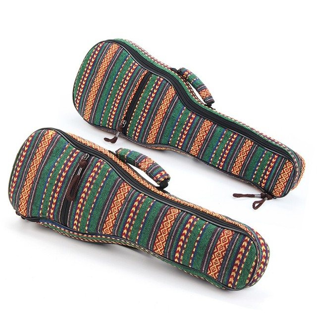 Double Strap Canvas Ukulele Bags