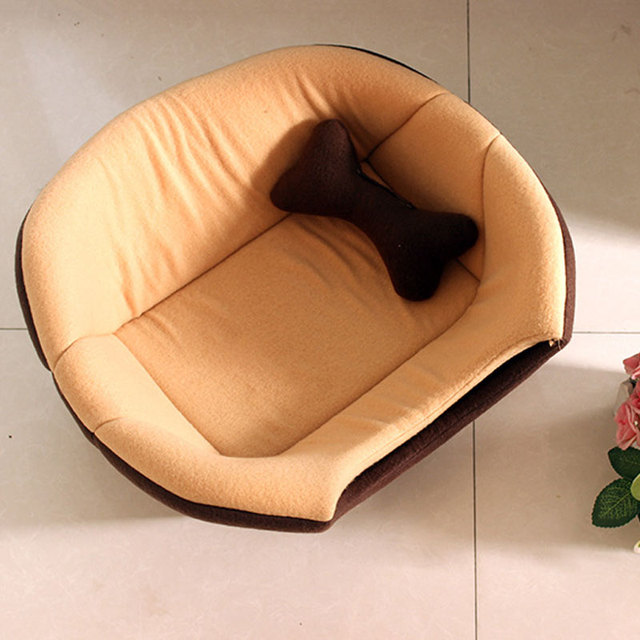 Foldable Soft Warm Winter Cat Dog Bed House Animal Puppy Cave Sleeping Mat Pad Nest Kennel Pet Supplies Hot Sale 5