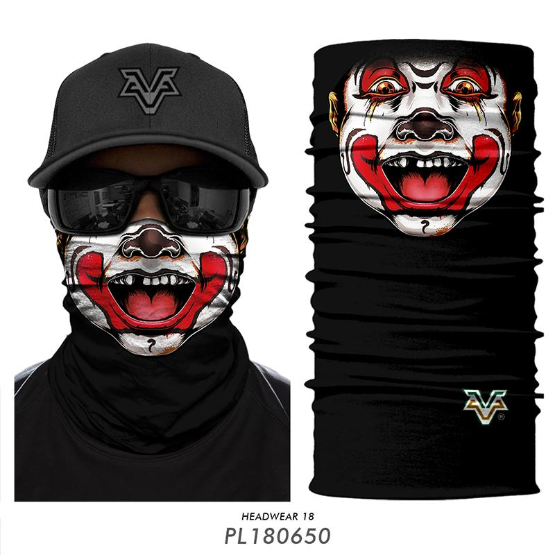 3D Cycling Seamless Bandana Thanos Tube Scarf Joker Clown Neck Gaiter Running Halloween Face Shield Christmas Gifts for Friends(China)