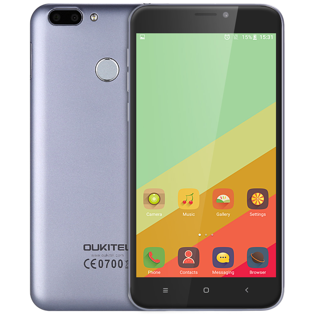 OUKITEL U20 Plus 4G Phablet IPS Screen MTK6737T Quad Core 1 5GHz 2GB RAM 16GB ROM