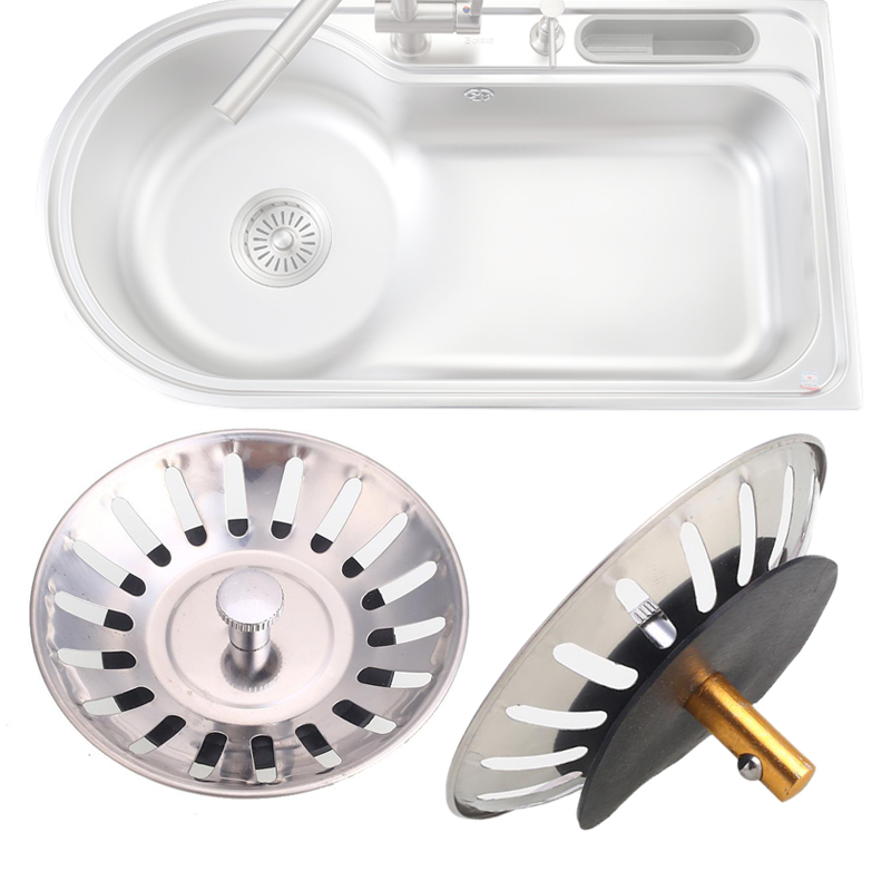 Sink Drain Stopper Sink Strainer Plug Bath Tub Stopper Tool Cap ...