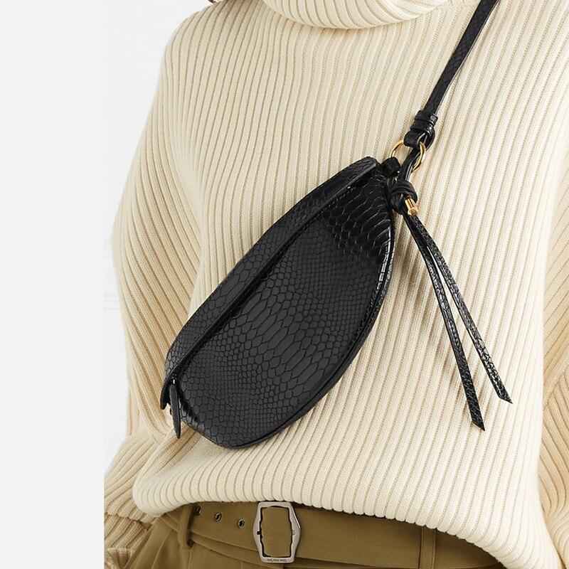 Women Waist Bag Snake Pattern Chest Handbag Bags For Women 2019