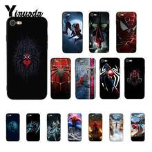 Yinuoda Marvel Avengers Super HERO Spiderman DIY โทรศัพท์กรณีสำหรับ iPhone X XS MAX 6 6S 7 7plus 8 8 PLUS 5 5S XR 11 11pro 11 PROMAX(China)