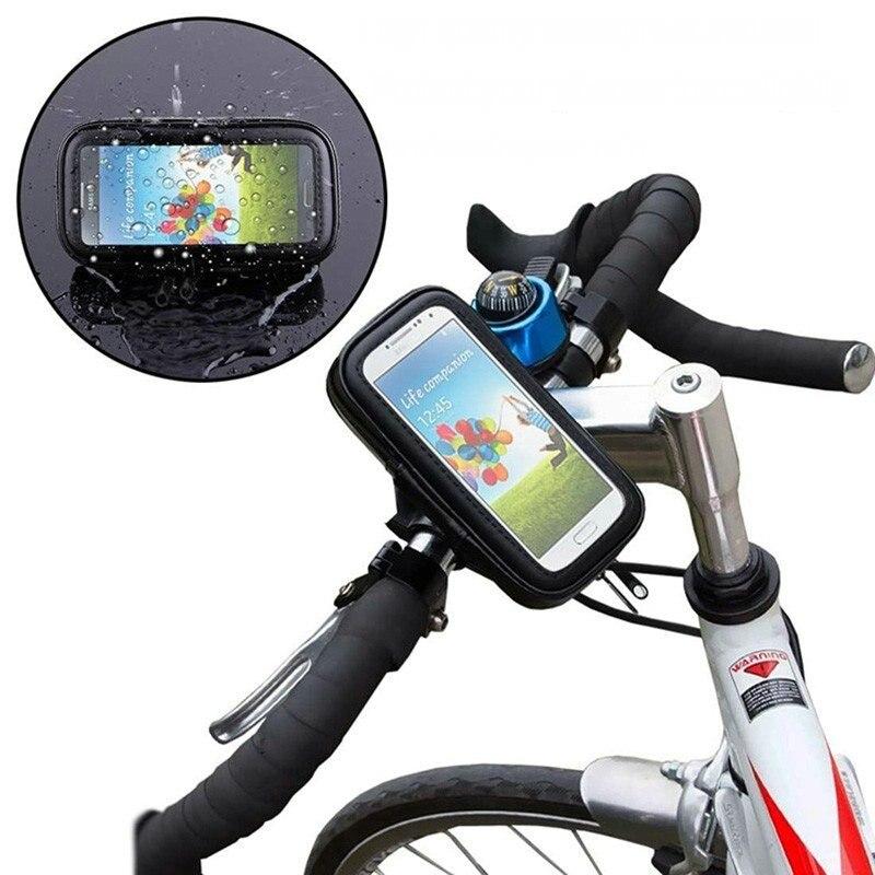 10 PCS Bicycle Bike Phone Holder Mount Bracket Stand Waterproof Case Bag FOR Mobile Phone