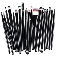 20pcs Set Brushes Pro Powder Foundation Eyeshadow Eyeliner Lip Brush Makeup Tool