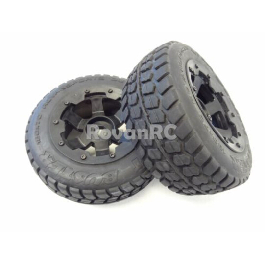 1/5 Rovan Terminator Rear Truck Road Wheels HPI Baja 5T 5SC King Motor LOSI 5IVE