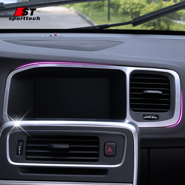 car styling navigation trim stickers for volvo s60 l v60 navigation rh aliexpress com Volvo GPS Volvo GPS