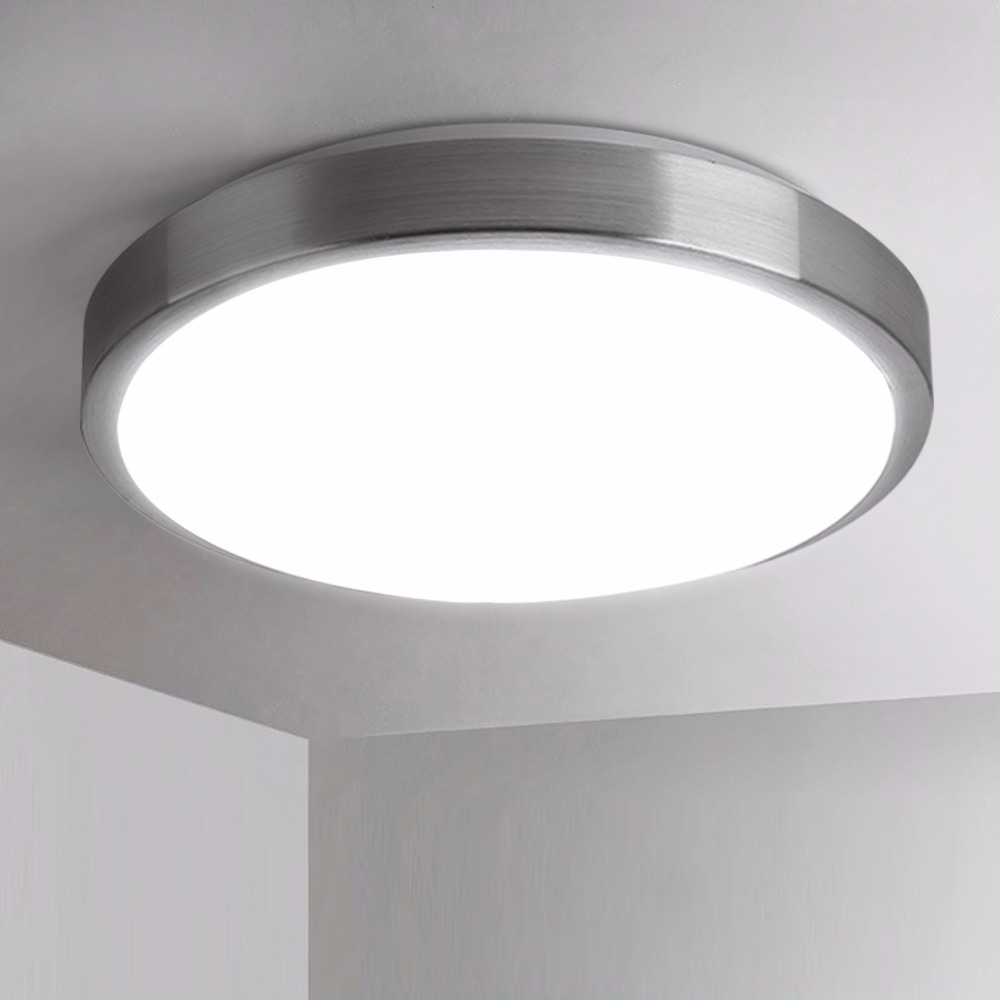 Ceiling Lights & Fans Modest Led Ceiling Light 18w Round The Bedroom Balcony Lamps Simplicity Modern Cold White Warm White For Bedroom/kitchen/hallway Lights & Lighting