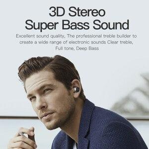 Image 4 - AWEI T8 TWS Bluetooth Kopfhörer Wahre Drahtlose Ohrhörer Mit Power Bank Dual Mikrofon 3D Stereo In Ohr Kopfhörer Für xiaomi iPhon