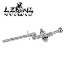 LZONE-6 скоростей стали и поли короткий бросок переключения втулки комплект для 04+ Subaru Wrx Sti JR-SFT01-6
