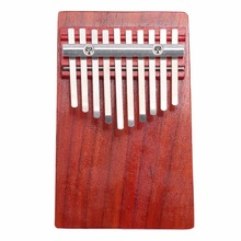 Hotsale Economic Durable Mahogany Red Finger Harp Kalimba Music Musical Instruments