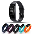 Heart Rate Monitor Wirless Fitness Tracker Sport Wristband with Multi-Functions Activity Smart Bracelet Pedometer wristband men