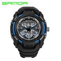 2017 New Arrival Fashion Chronograph Sport Mens Watches Top Brand Luxury SANDA Watches Army Quartz Watches Relogio Masculino
