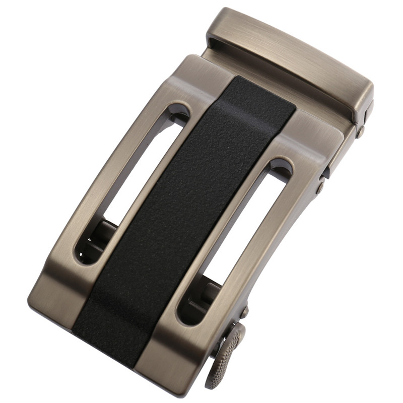 LannyQveen Men's Automatic Buckles Ratchet Belts Buckle No Strap Alloy Belts Accessories Factory Wholsale