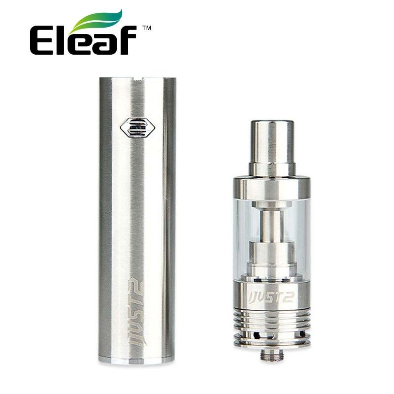 Original Eleaf iJust 2 Starter Kit mit 5,5 ml Tank Zerstäuber 2600 mAh batterie Eleaf iJust 2 Batterie TPD Übereinstimmung e-zig