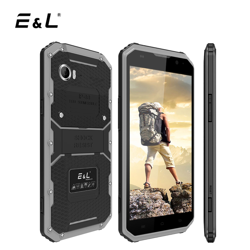 E L W9 4G LTE Mobile Phone Android 6 0 Octa Core 2GB 16GB IP68 Smartphone