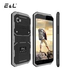 E & L W9 4 г LTE мобильный телефон Android 6.0 Octa core 2 ГБ 16 ГБ IP68 смартфон 6 дюймов 4000 мАч 1920×1080 Водонепроницаемый ударопрочный телефон