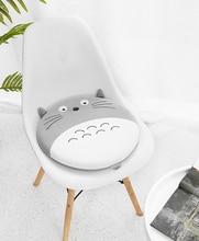 Memory cotton round seat cushion rattan chair pad Japanese cute cartoon bay window stool