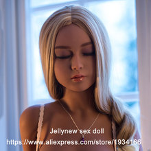 140 cm silicone sex doll small breasts,flat chest love dolls,close eyes beauty,realistic pussy 3-holes,metal skeleton,can stand