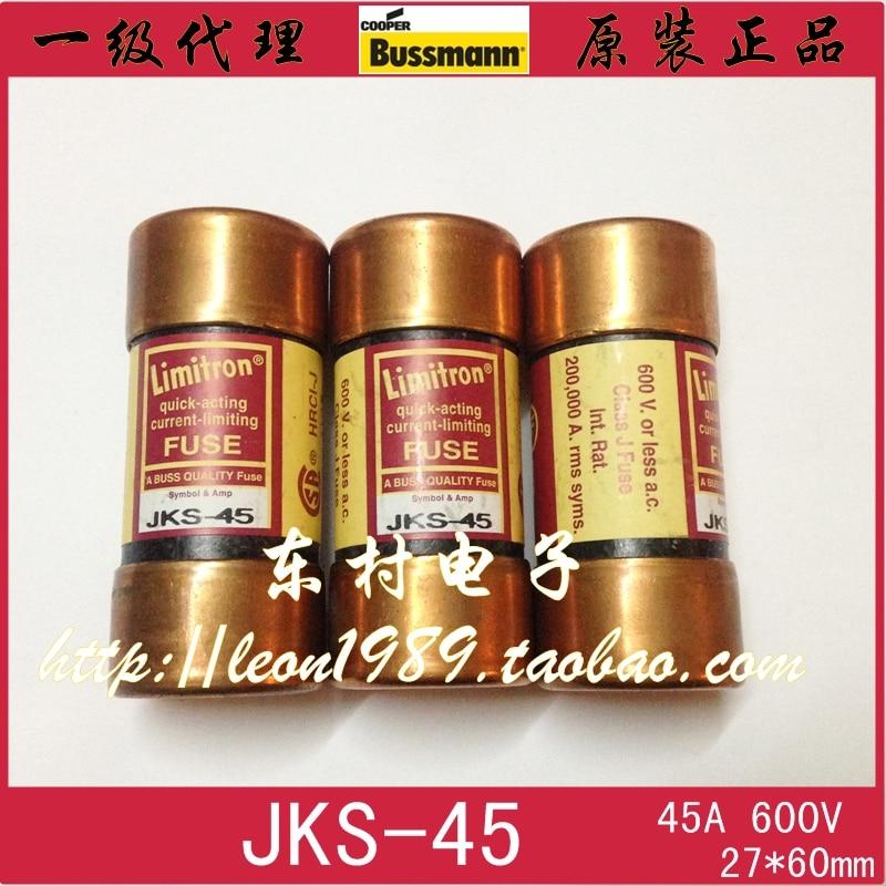 [SA]US imports fuse BUSSMANN fuse Limitron JKS-45 45A 600V us imports bussmann fuse ceramic fuse limitron jks 80 80a 600v