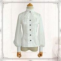 White Lolita Victorian Shirt