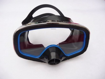 Miroir submersible miroir masque submersible lunettes de natation tuba miroir submersible fournitures en verre