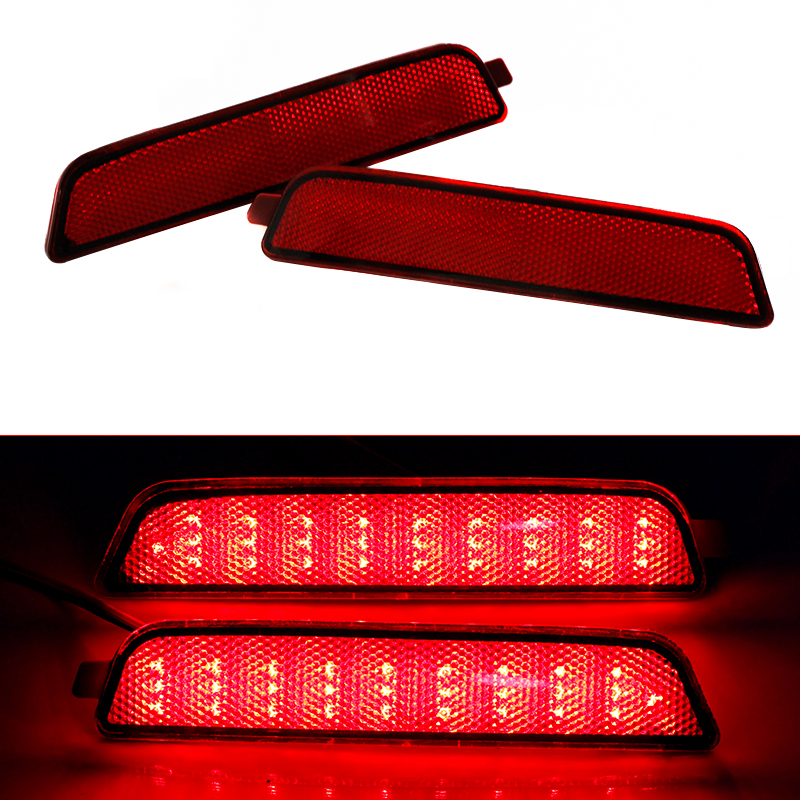 Ownsun New Multi-LED Reflector Rear Tail Light Bumper Brake Light For Hyundai Tucson 2013-2014 new for toyota altis corolla 2014 led rear bumper light brake light reflector novel design top quality fast shipping
