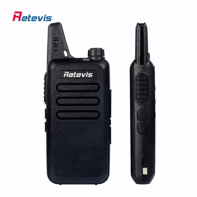 2 pcs handy rt22 retevis walkie talkie 2 w 16ch uhf 400-480 mhz ctcss/dcs VOX Digitalização de Rádio Amador Hf Transceptor de Rádio Portátil de 2 Vias RU