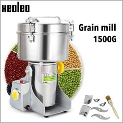 XEOLEO Grain Grind machine1500g Swing type electric Grain grinde Powder mills machine for Grain/traditional Chinese medicine