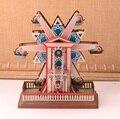 Retro Noria Colecciones Vintage Estaño Clockwork Wind Up Juguetes de Hojalata Clásicos Hechos A Mano Artesanía