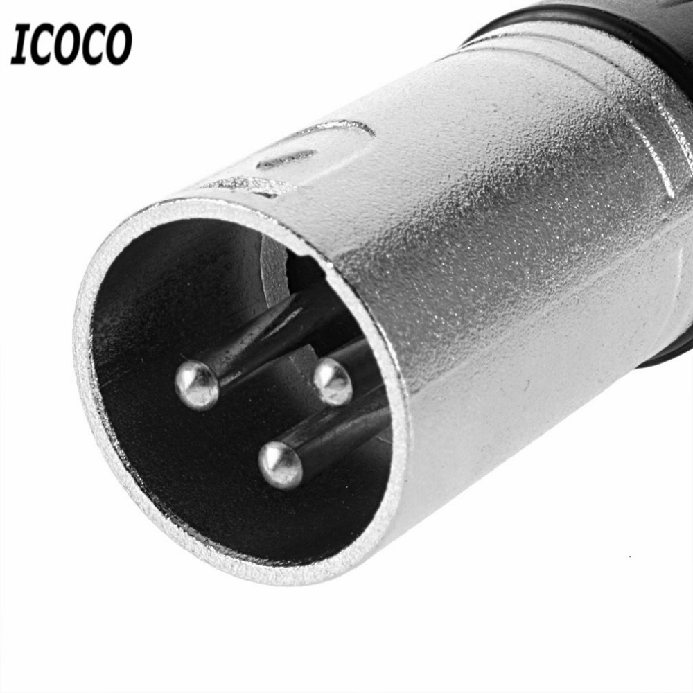 1pc Mic Microphone Xlr Male Type 3 Pin Audio Cable Connector Solder Wiring Musical Theatre Connection Adapter Mini Portable Accessories In Connectors From Lights Lighting On