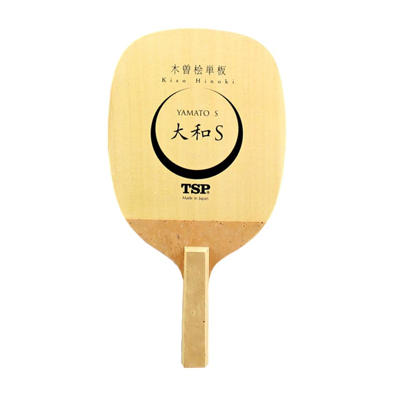 TSP YAMATO S Table Tennis Blade (1 Ply Kiso Hinoki) Japanese Penhold Solid Cypress Racket JS Ping Pong Bat dhs hurricane ning 5 ply off table tennis blade for ping pong racket penhold short handle cs