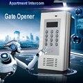 GSM Access Control Tor Tür Öffnen Alarm System LCD Screen 1000 Autorisierten Zahl Türöffner unterstützung RFID Karte SMS Text k6