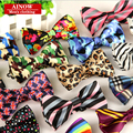 SHENNAIWEI high quality fashion 2016 men casual Cotton bow tie men's bowties for man butterfly cravat Plaid bowtie Gravata lot