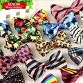 SHENNAIWEI manera de la alta calidad 2016 Algodón de los hombres casual pajarita pajaritas de los hombres para el hombre de la mariposa corbata A Cuadros bowtie Gravata lot