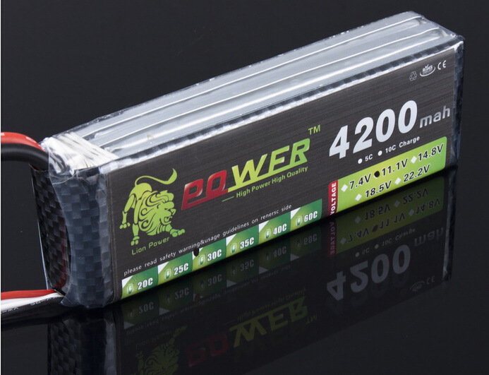 LION POWER 11,1 v 1500 mah 2200 mah 2800 mah 3000 mah 4200 mah 5200 mah 3 s lipo T /XT-60 für hubschrauber/auto/boot spielzeug battey 3 s batterie