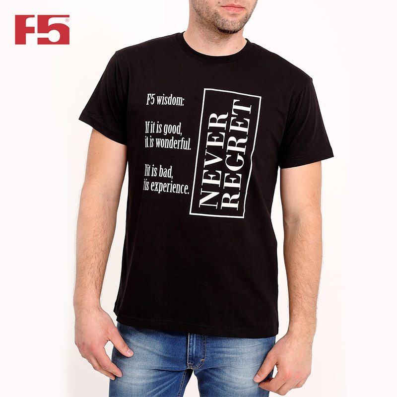 Men Tshirt F5 180069 men ink painting print tshirt