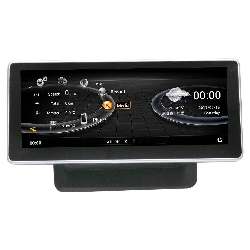 Véhicule GPS Navigation 2G RAM 32G ROM Android affichage pour Audi Q7 2006-2015 10.25