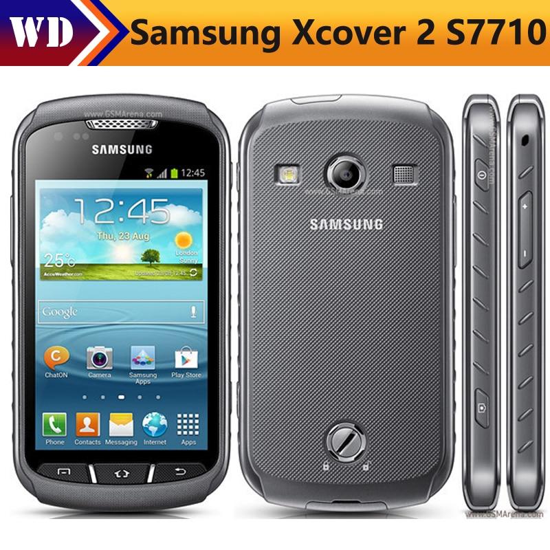 S7710 Original Samsung Xcover 2 S7710 Unlocked 4 0 Inch 1GB