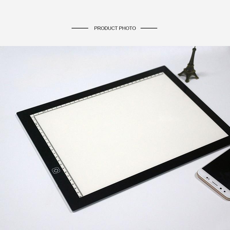 A3 Ultra Slim LED Drawing Light Box LED Copy Board Tracing Light Pad