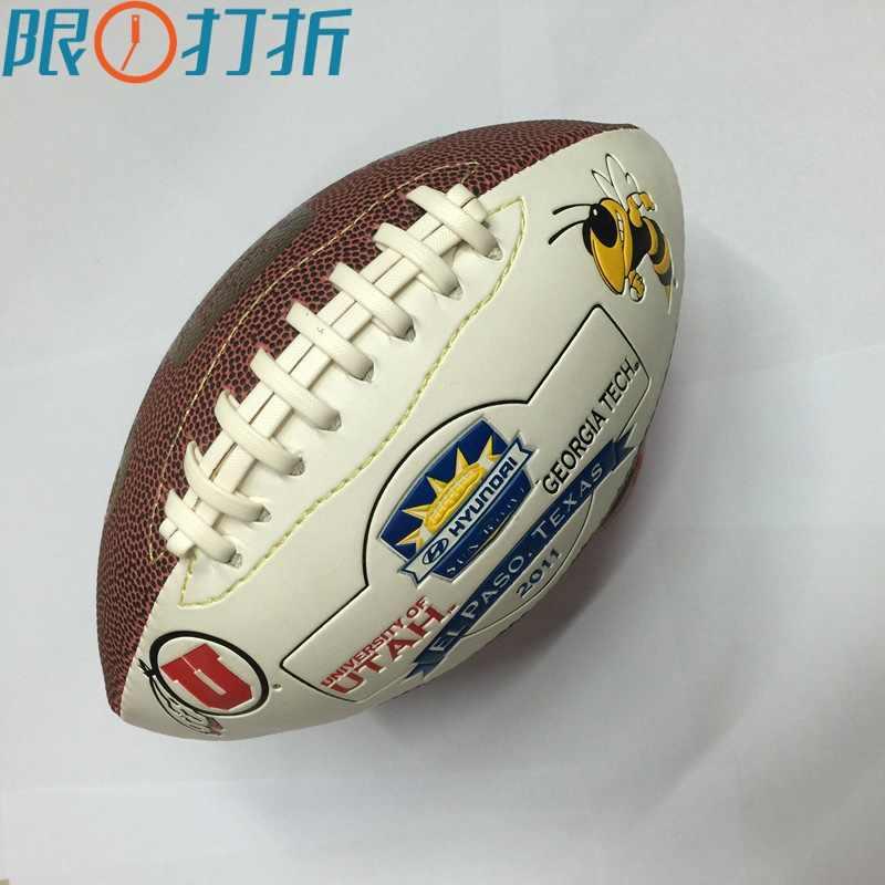 サイズ3ラグビーボールアメリカンフットボールラグビーボールアメリカンフットボールボールスポーツやエンターテイメント用キッズ子供トレーニング
