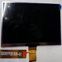Replacement 9 Inch 800x480 LCD Screen 50 Pin SQ000FPCB150R 01 Tablet LCD Screen
