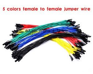 Бесплатная доставка, 100 шт., новинка, 1-1 шт., 20 см, 5 цветов, женский джемпер, провод Dupont, кабель